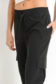 Ulla Cargo Jogger black detail MILK MONEY