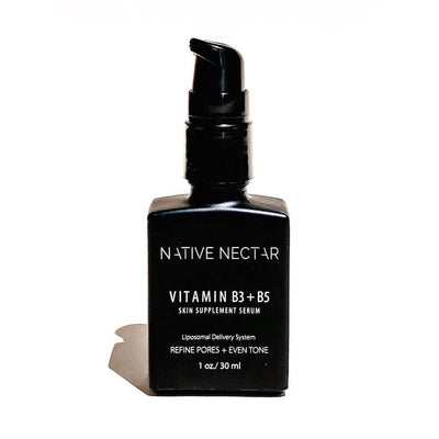 Vitamin B3 + B5 Skin Supplement Serum by Native Nectar MILK MONEY