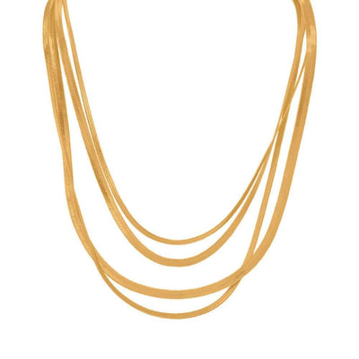 Viv Layering Necklace Set Gold MILK MONEY