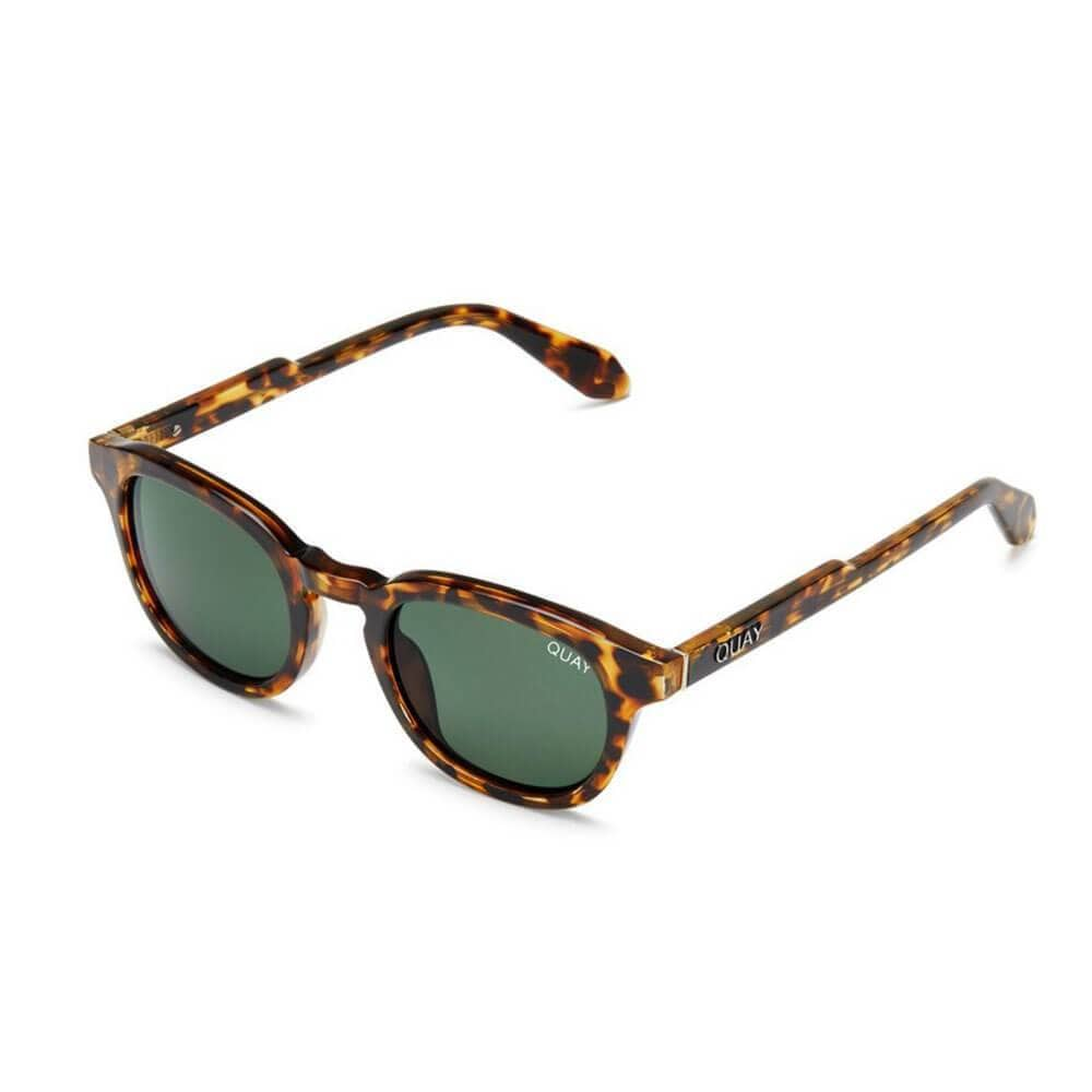 Walk On Sunglasses by QUAY Brown side - MILK MONEY