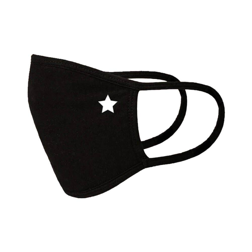 Washable Emblem Face Mask star side MILK MONEY