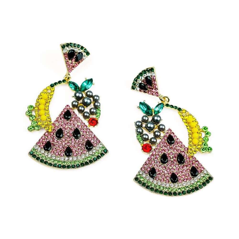Watermelon Party Earrings