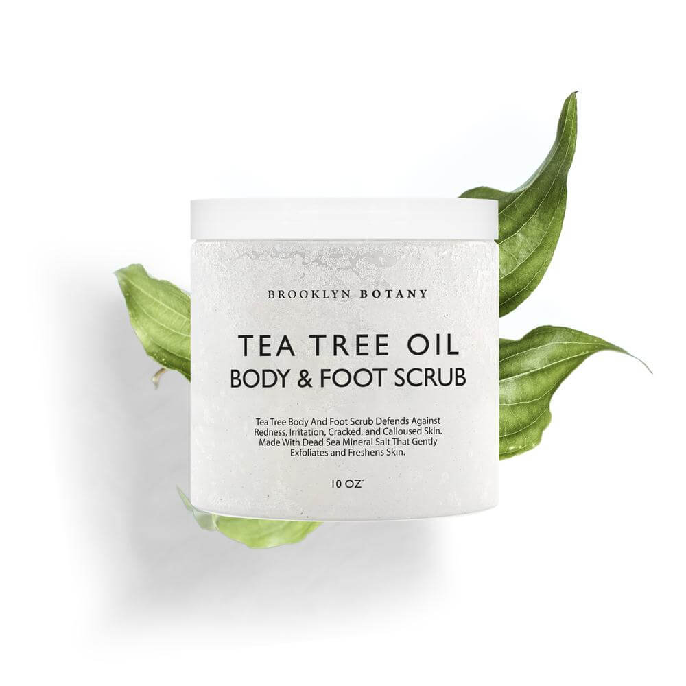 Tea Tree Body and Foot Scrub by Brooklyn Botany