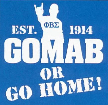 GOMAB or Go Home