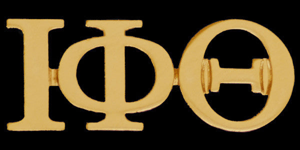 Greek Letter Lapel Pin