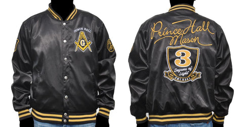 Prince Hall Satin Jacket