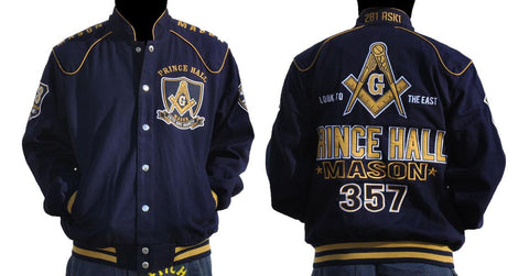 Prince Hall Twill Jacket