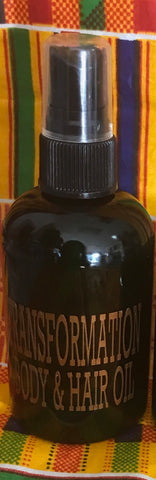 Transformation Hair and Body Oil