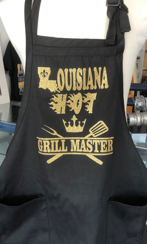 Louisiana Hot Apron Grill Master