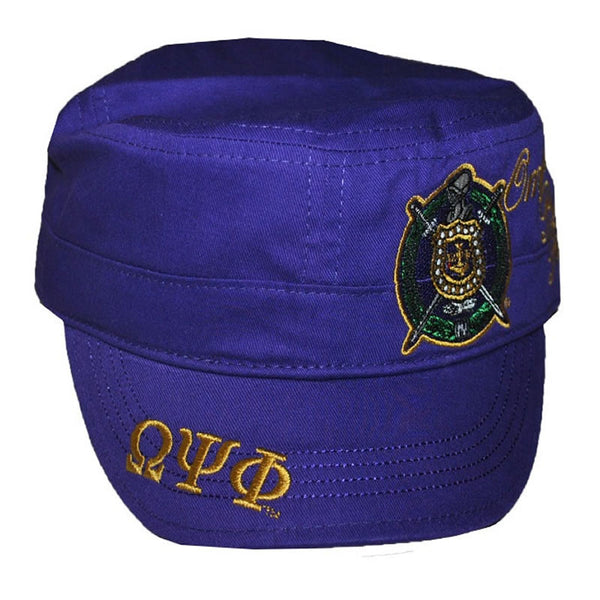 Omega Psi Phi Captains Hat