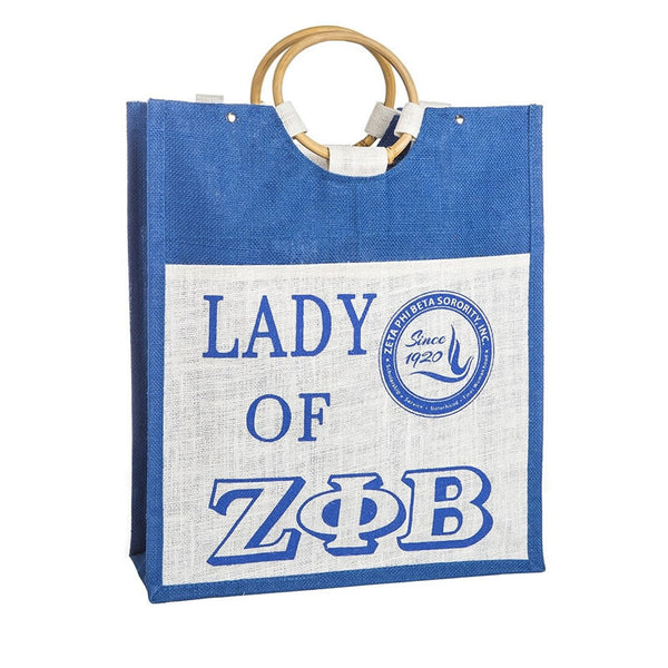Zeta Pocket Jute Bag