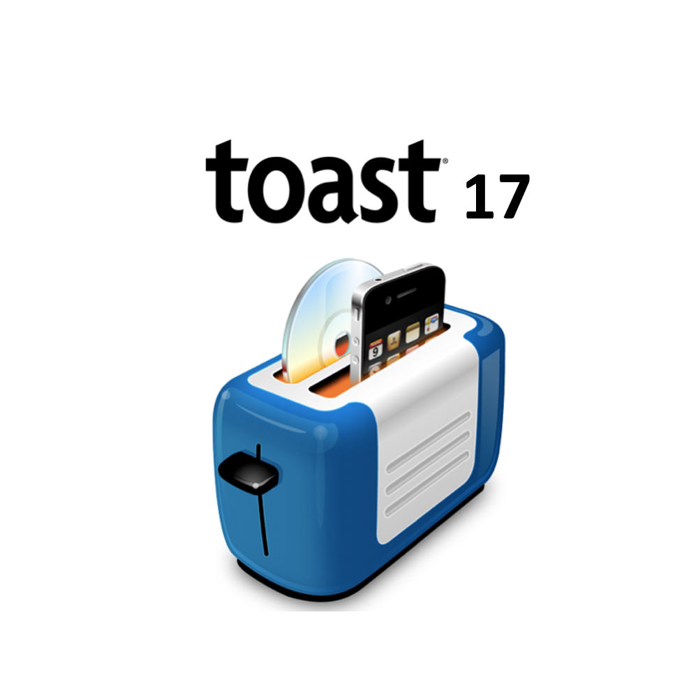 ROXIO TOAST 17 TITANIUM APPLE MAC - DVD BLURAY BURNER DOWNLOAD
