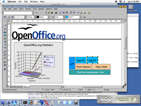 Open Office alternative to MS Office Word Excel for Apple Mac