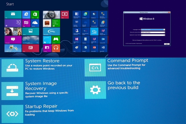 Windows 8.1 recovery disc