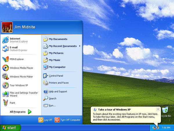 windows xp recovery disk