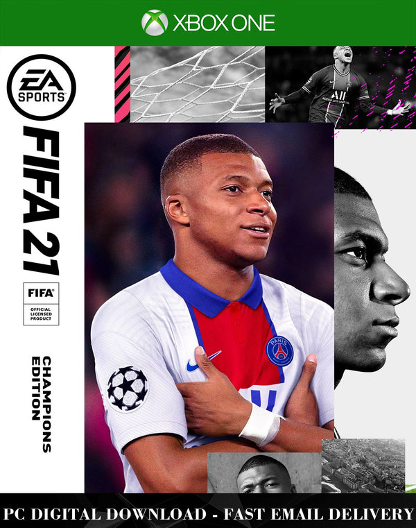 FIFA 21 Champions Edition Xbox One Game Global Activation Key