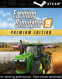 Farming Simulator 19 Premium Edition Steam PC Game Global Activation Key