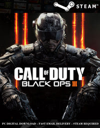 Call of Duty Black Ops 3 Steam PC Game Global Activation Key