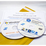 Toshiba Recovery DVD Disk for Windows XP Home Pro PC Computer Laptop - Software Repair World