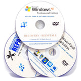 Windows XP Reinstall Mega Bundle with Drivers & Diagnostics Disc Disk