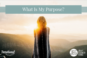 What is my purpose by Elizabeth George