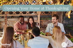 Opening Your Home at Thanksgiving