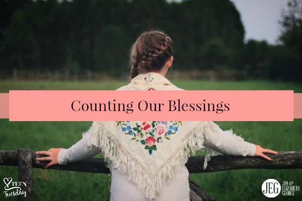 Teen Tuesday – Counting Our Blessings