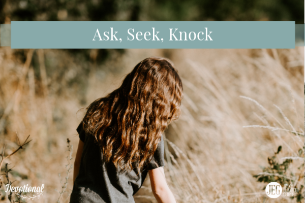 Ask, Seek, Knock by Elizabeth George