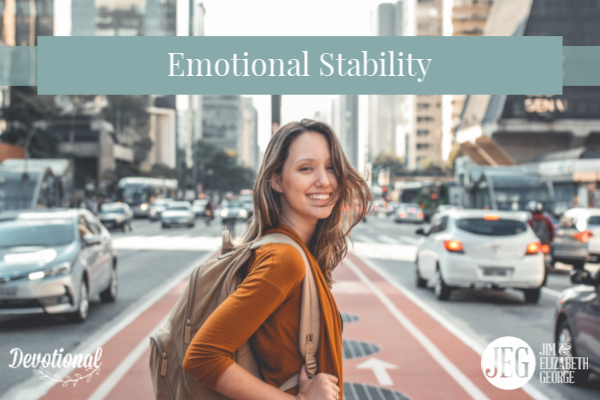 Emotional Stability by Elizabeth George