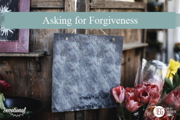 Asking for Forgiveness by Elizabeth George
