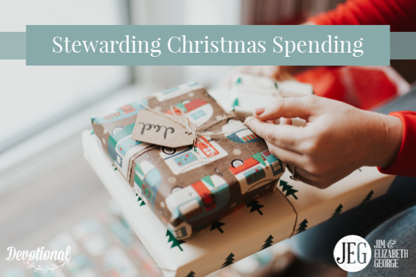 Stewarding Christmas Spending by Elizabeth George
