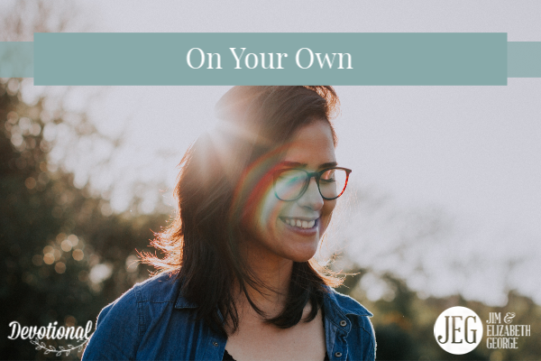 On Your Own by Elizabeth George