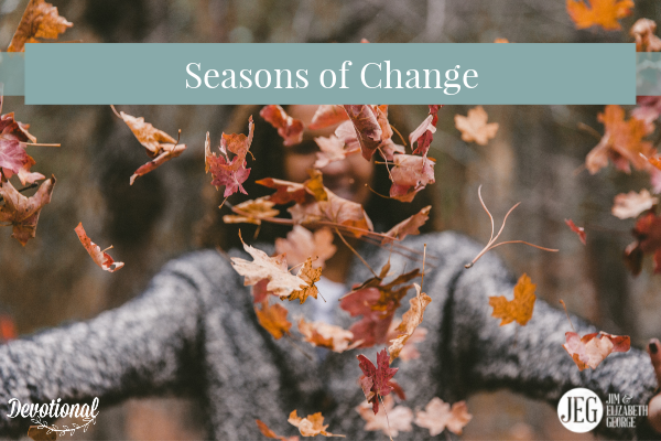 God's grace is changing season elizabeth-george