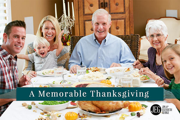 A Memorable Thanksgiving by Elizabeth George
