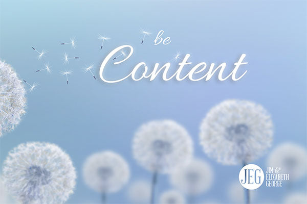 How to be Content by Elizabeth George