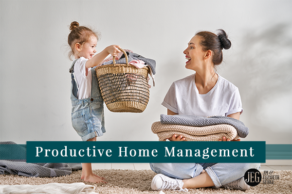 elizabeth-george three-routines-for-productive-home-management