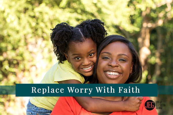 elizabeth-george replace-worry-with-faith