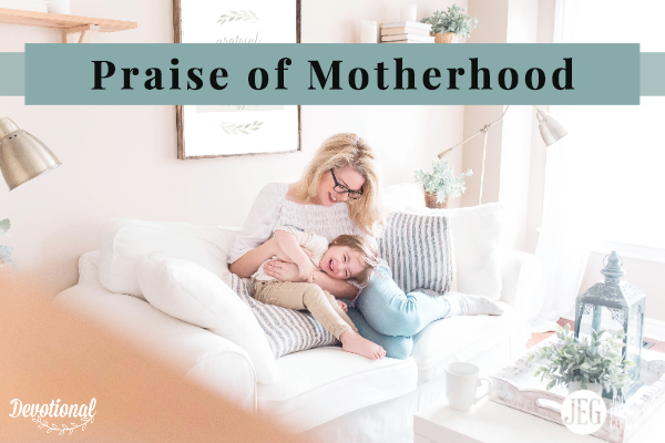 elizabeth-george symbolic-praise-of-motherhood