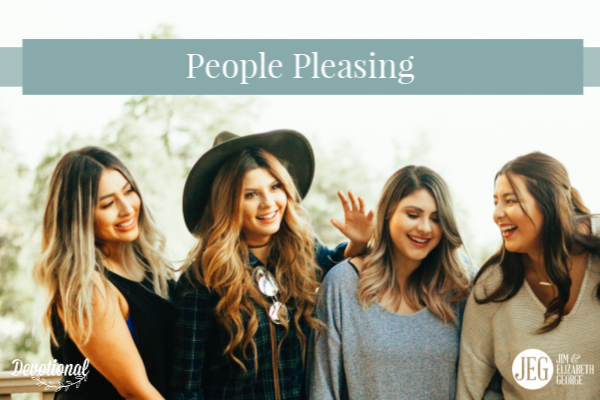 People-pleasing elizabeth-george devotion-for-women christian-devotional