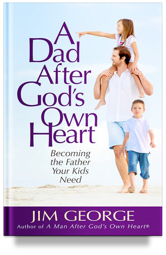book about how to be a good dad, Jim George