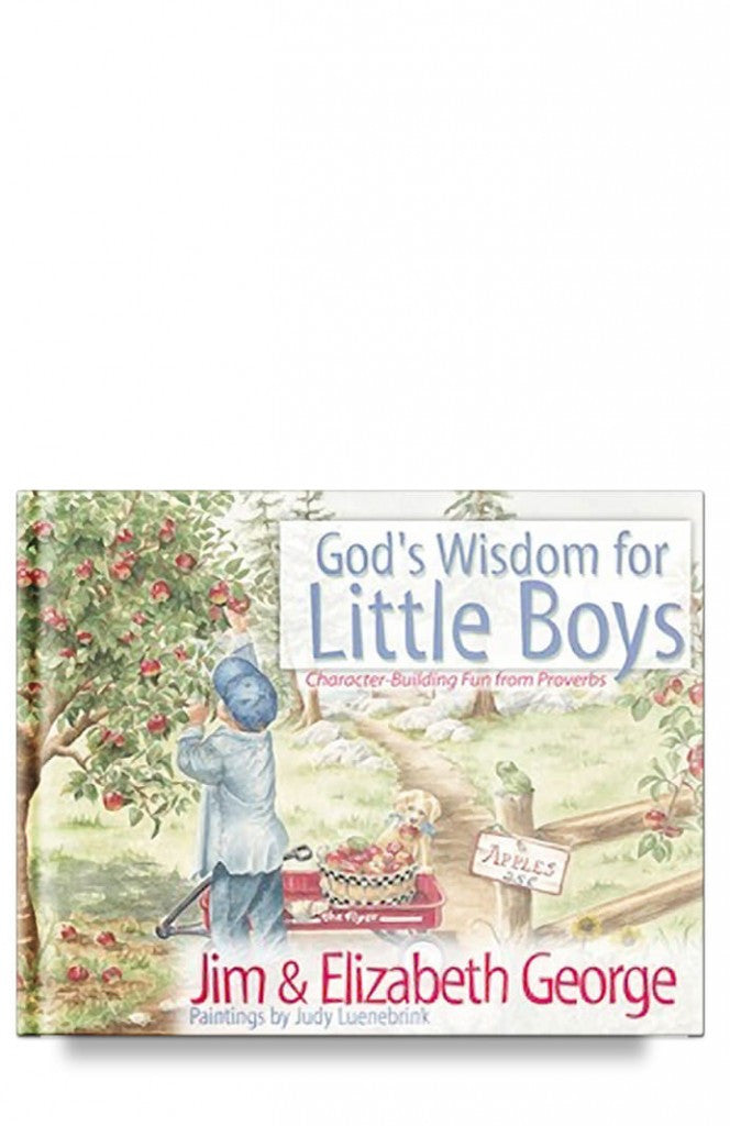 God's Wisdom for Little Boys: Character-Building Fun from Proverbs By Jim George and Elizabeth George