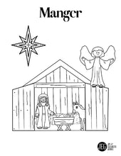 Advent Coloring Sheets (Printable)