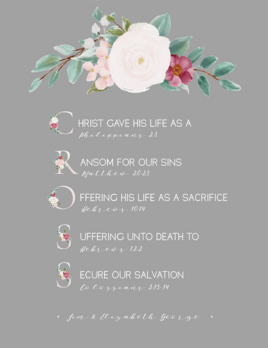 Easter Cross (Printable)