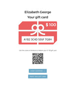 Jim & Elizabeth George Online Gift Card {Choose Amount}