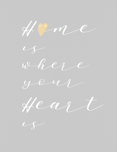 Home Is Where Your Heart Is (Printable)