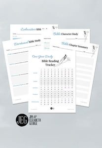 Bible Reading and Study Tools Gift Pack (Printables)
