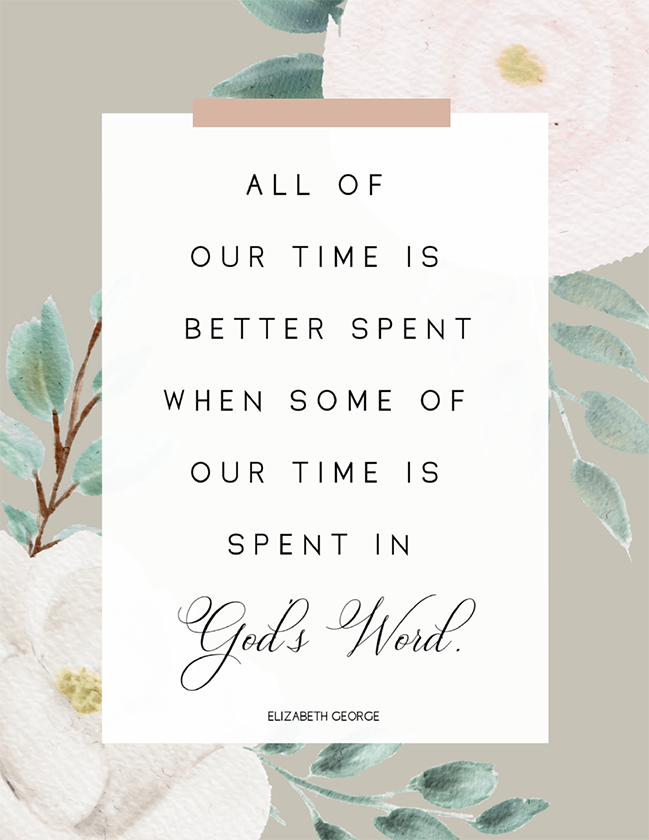 Our Time (Printable)