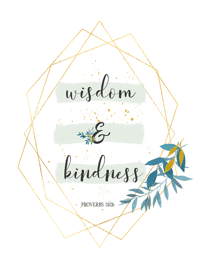 Wisdom & Kindness (Printable)