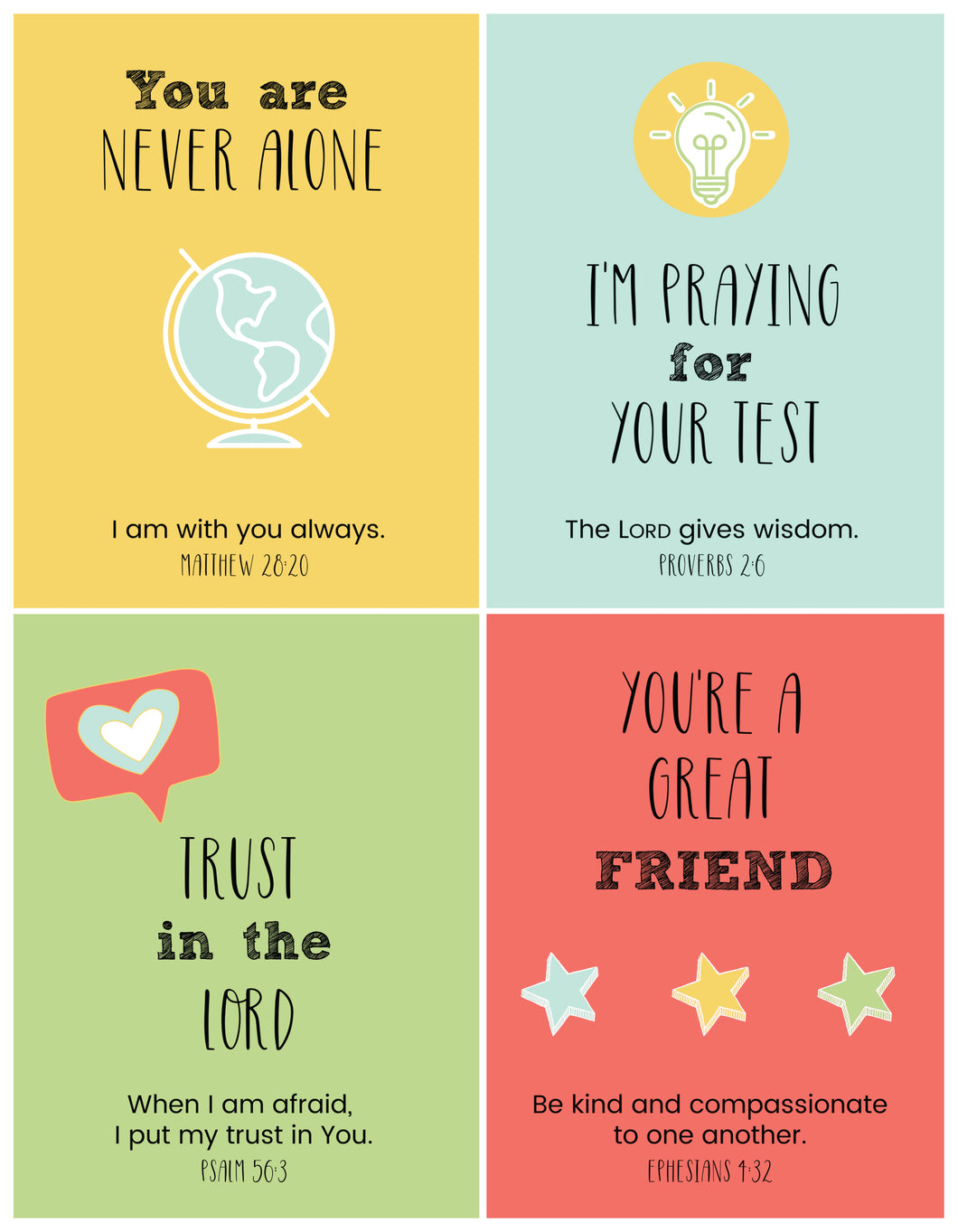 Lunchbox Messages for Your Student (Printable)