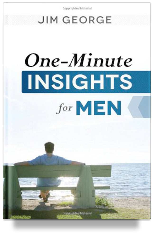 One-Minute Insights for Men by Jim George